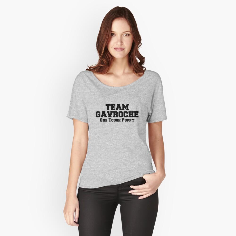 Team Gavroche Women's Relaxed Fit T-Shirt Front
