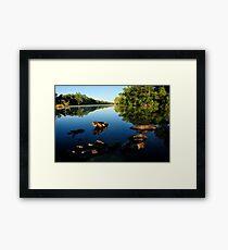 Dunham billabong Framed Print