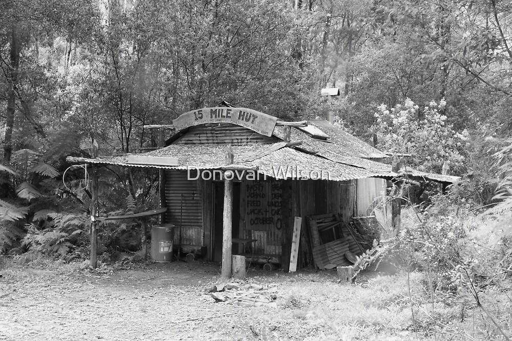 15 Mile Hut by Donovan Wilson