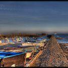 Querqueville Harbor by Michaël Tardif