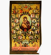 genealogy of the state of muscovy panegyric to our lady of vladimir Poster