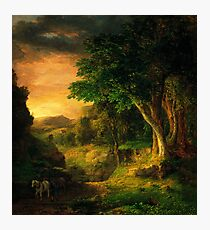 George Inness In the Berkshires Photographic Print