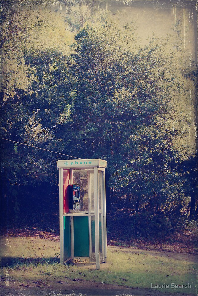 A Phone in a Booth? by Laurie Search