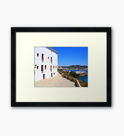View From The Ramparts Framed Print