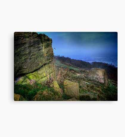Chevin Surprise View  Canvas Print