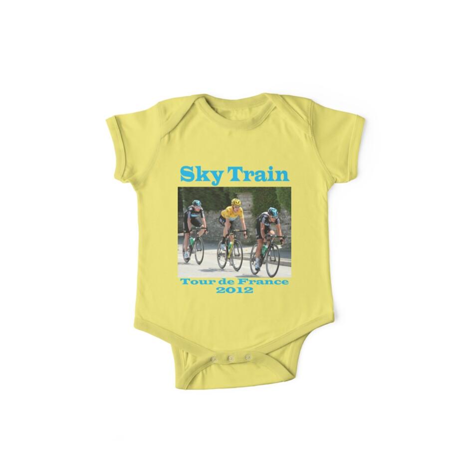 Wiggins Sky Train - Tour de France 2012 by MelTho