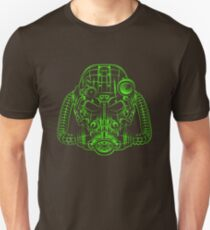 Power Wireframe Green T-Shirt