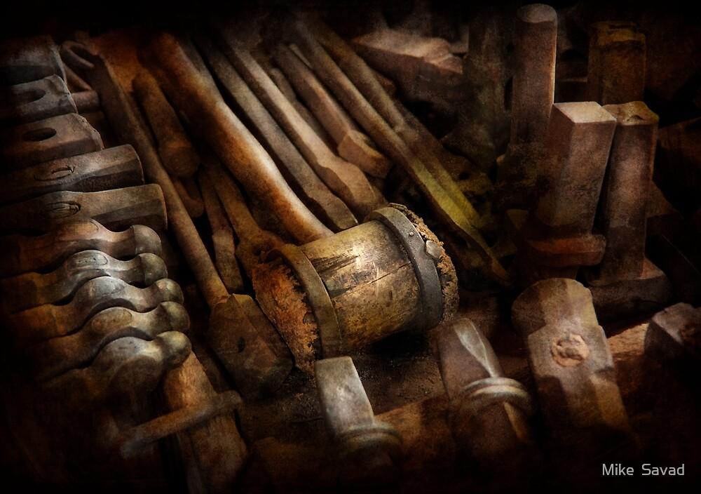 Blacksmith - The art of Pounding  by Michael Savad