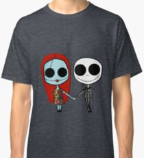 Jack and Sandy - The Nightmare Before Christmas Classic T-Shirt