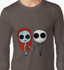 Jack and Sandy - The Nightmare Before Christmas Long Sleeve T-Shirt