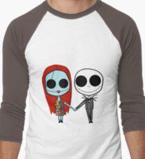 Jack and Sandy - The Nightmare Before Christmas Men's Baseball ¾ T-Shirt