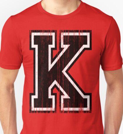 Big Varsity Letter K T-Shirt