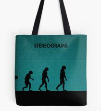 99 Steps of Progress - Stereograms Tote Bag