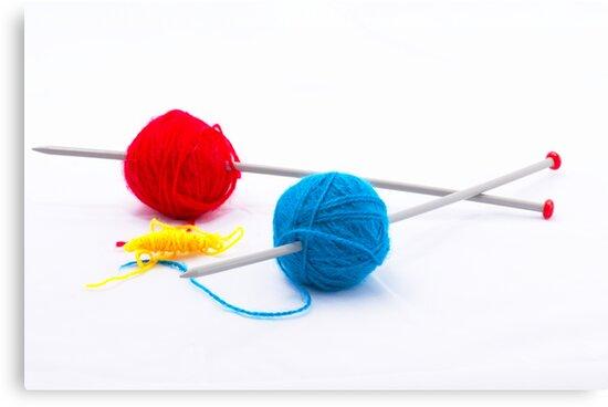 Knitting according Mondriaan by 7horses