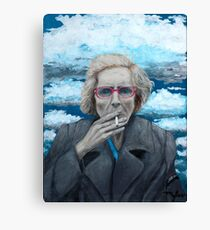 Red Spectacles Canvas Print
