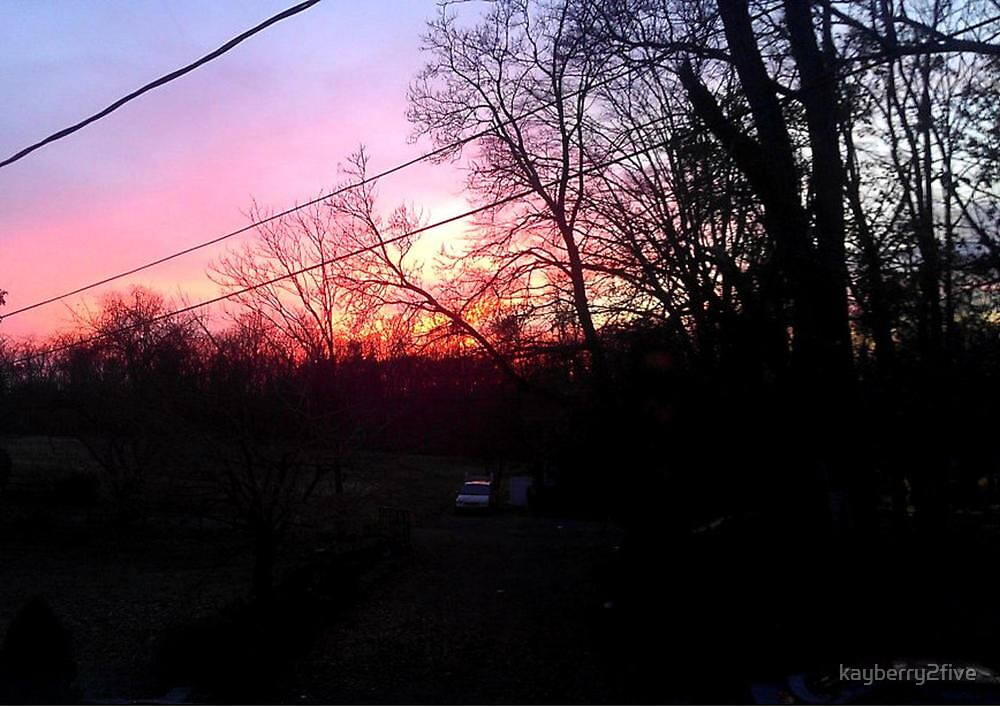 Freehold Sunset by kayberry2five