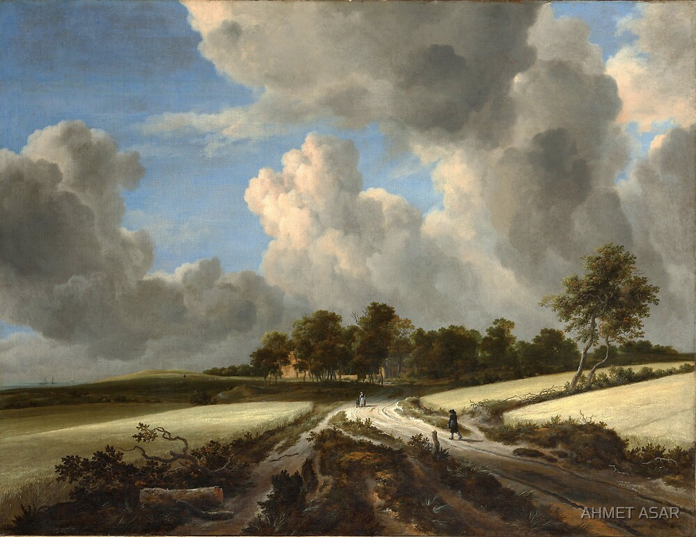 Jacob van Ruisdael   Wheat Fields (c. 1670) by MotionAge Media
