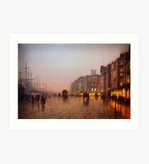 John Atkinson Grimshaw  Liverpool from Wapping (1885) Art Print
