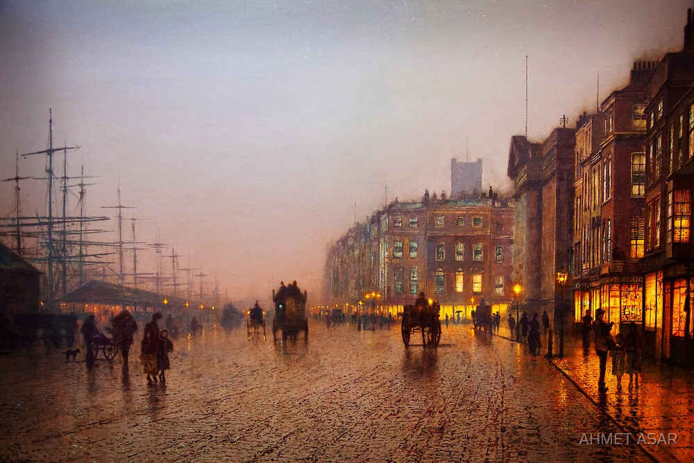 John Atkinson Grimshaw  Liverpool from Wapping (1885) by MotionAge Media