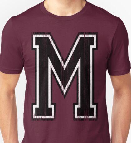 Big Varsity Letter M T-Shirt
