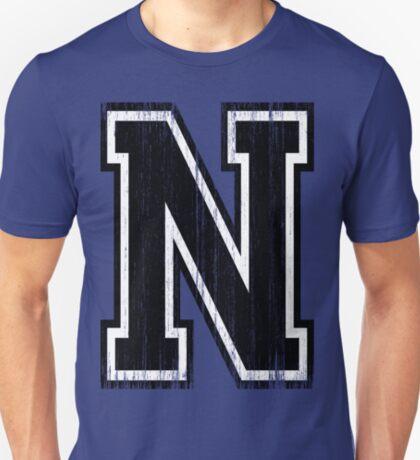 Big Varsity Letter N T-Shirt