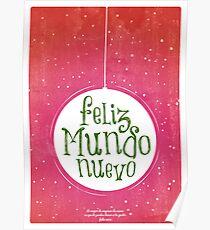Feliz Mundo Nuevo Poster