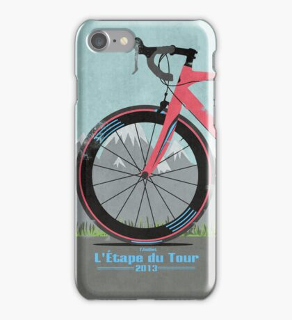 L'Étape du Tour Bike iPhone Case/Skin
