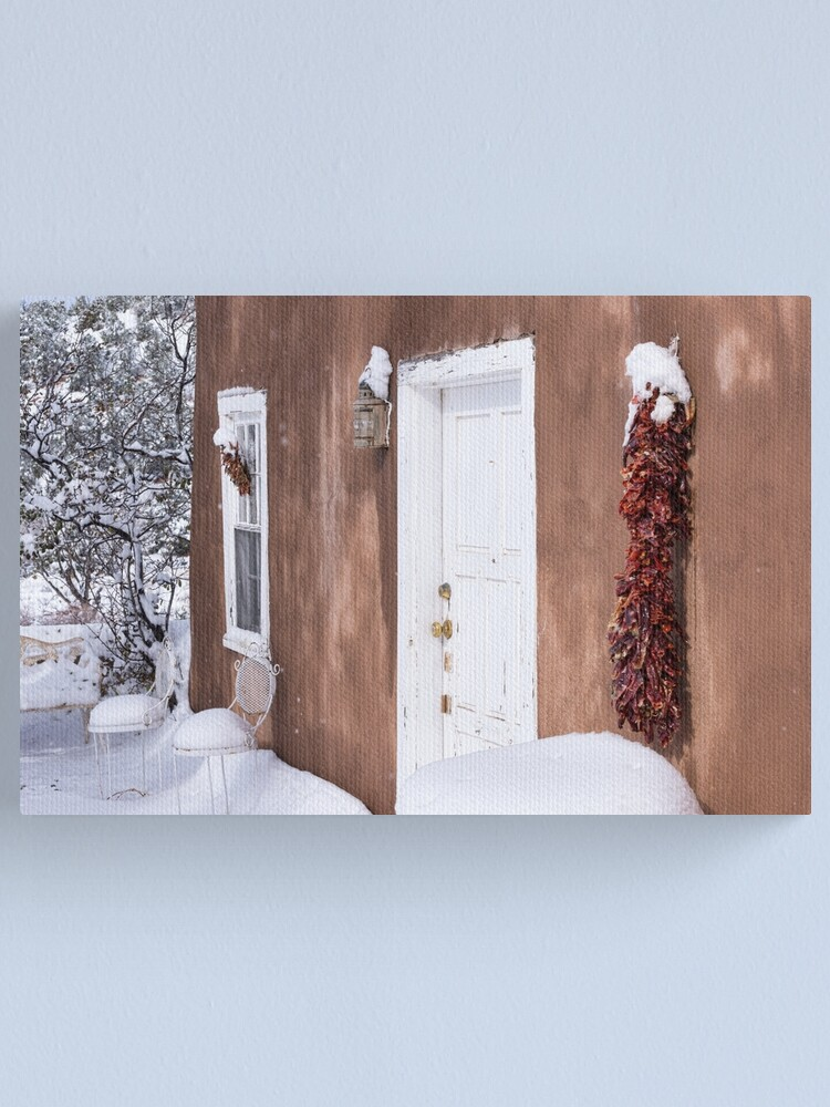 Alternate view of Snowed In Canvas Print