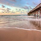 Sunrise At The Holden Beach Pier by NFirebaugh