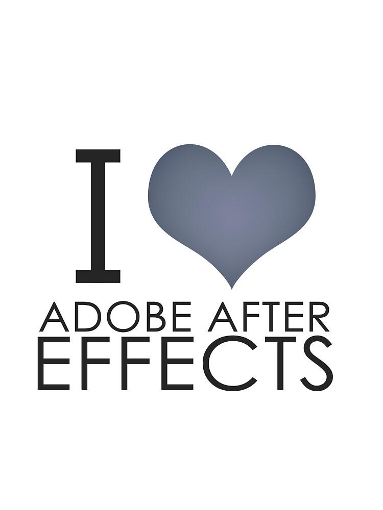 I love AE by BirDesign