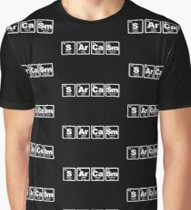 Sarcasm - Periodic Table Graphic T-Shirt