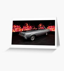 1965 Plymouth Belvedere II Greeting Card