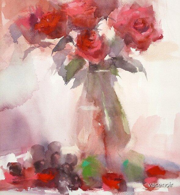 Rose Rouge by vasenoir