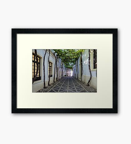 The Most Beautiful Street in the World Framed Print