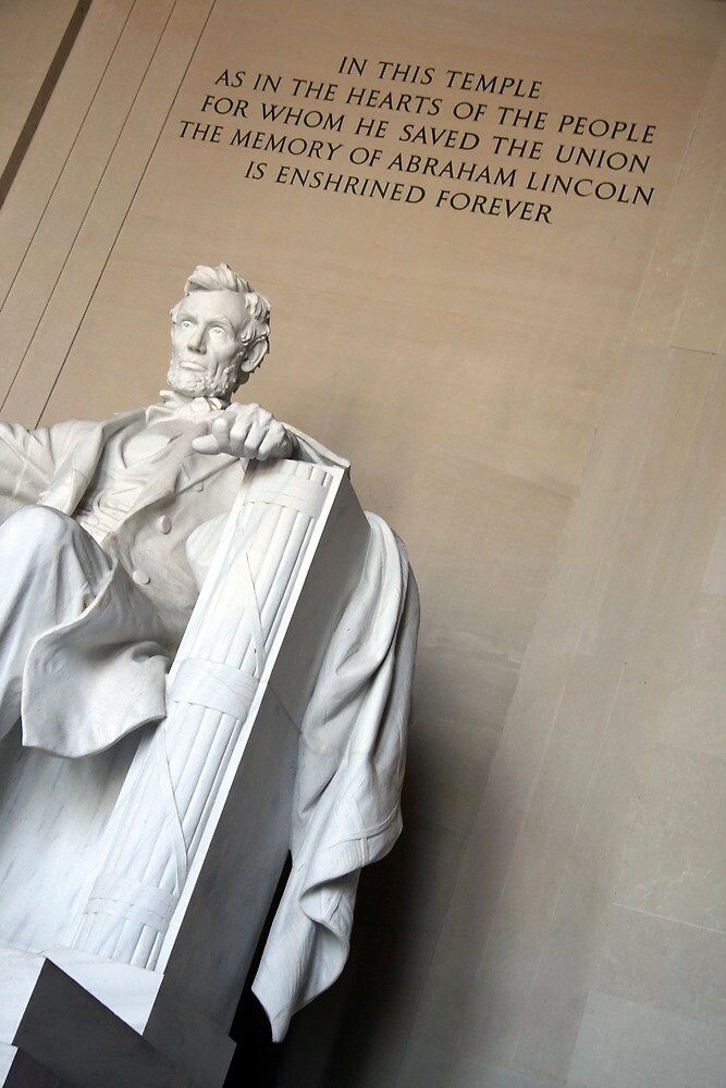 Abraham Lincoln - In This Temple by Cora Wandel