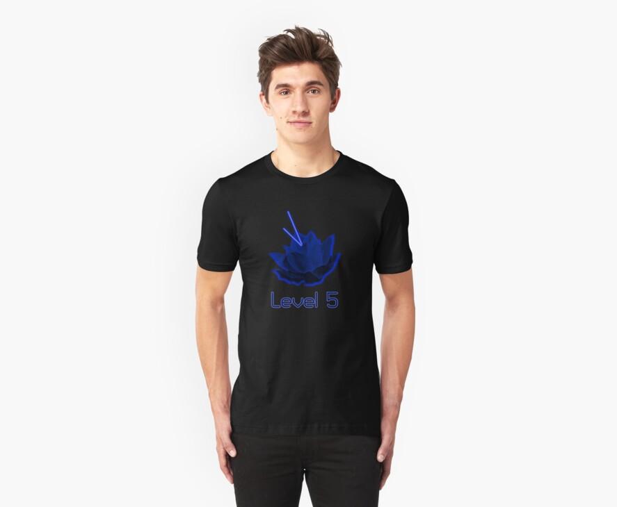 Level 5 Laser Lotus - Blue by megsakin