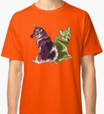 Vallhunds - Purple/Green Classic T-Shirt
