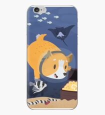 Diving For Treasure iPhone Case