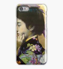 Japanese Geisha: Tehura  iPhone Case/Skin