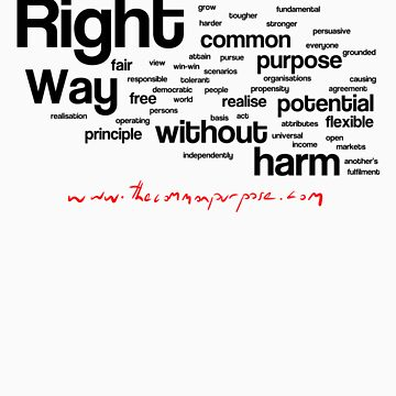 The Common Purpose Wordle (horizontal) by benwallace13