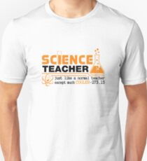 Science Teacher Witty Saying T-Shirt