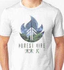 Forest Fire - Waterfall Unisex T-Shirt