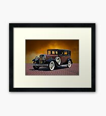 1930 Franklin Formal Sedan Framed Print