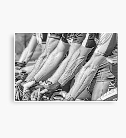 Bike Warriors Canvas Print