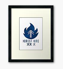 Forest Fire - Stars Framed Print