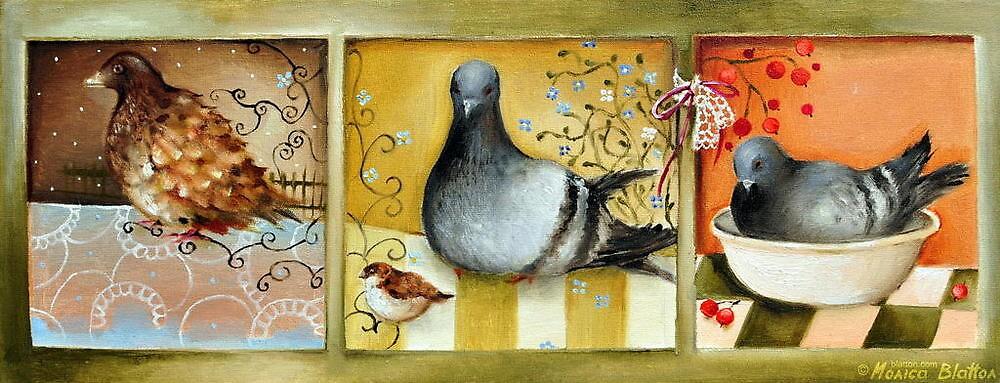Birdies by Monica Blatton