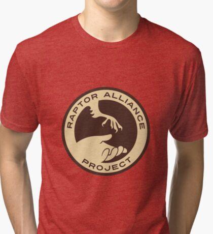 Raptor Alliance Project: Full Color Tri-blend T-Shirt