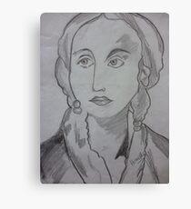 english lady Canvas Print