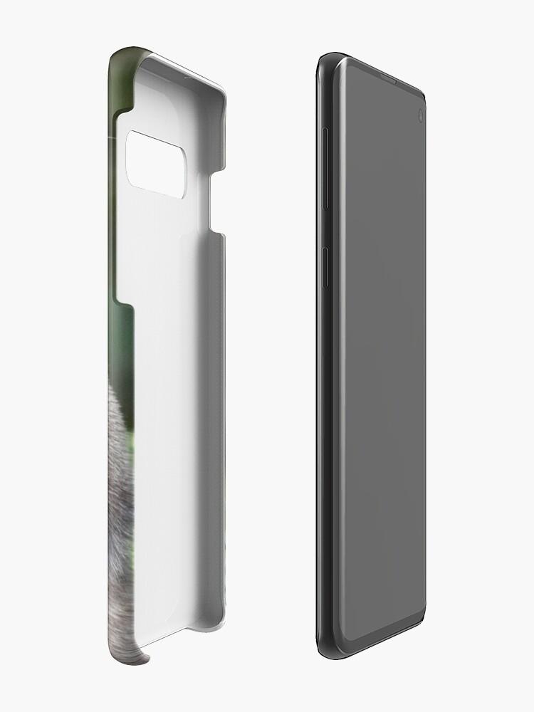 Alternate view of Otter paw-trait Case & Skin for Samsung Galaxy