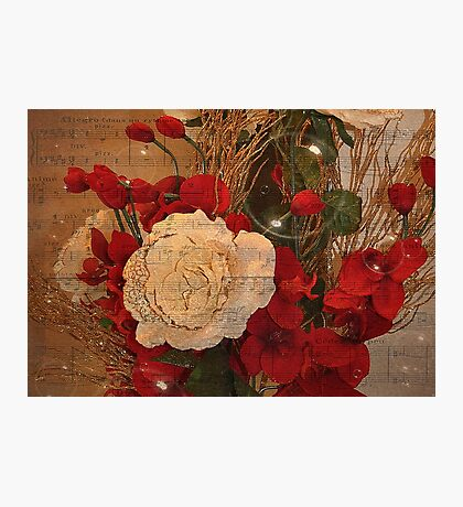 Roses And Bubbles Photographic Print